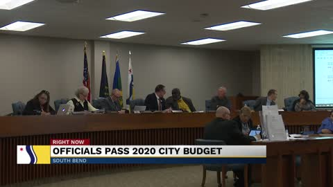 Officials pass 2020 city budget